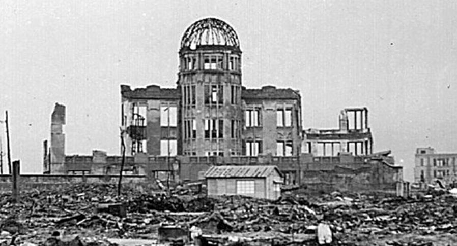 Le Palais d'exposition industrielle de la préfecture d'Hiroshima fait aujourd'hui parti du mémorial de la paix d'Hiroshima.