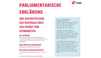 Parlamentarische Erklärung